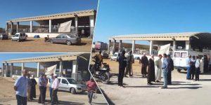 بالصور.. عائلة بوعبد السلام في صراع مع بلدية بن الطيب حول قطعة أرضية