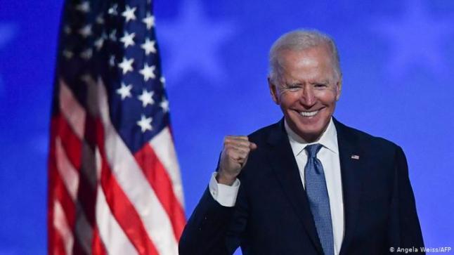 """وفق مؤشر """"السي إن إن"""": جو بايدن رئيسا لأمريكا بعد الفوز بـ20 صوتًا انتخابيًا في بنسلفانيا"""