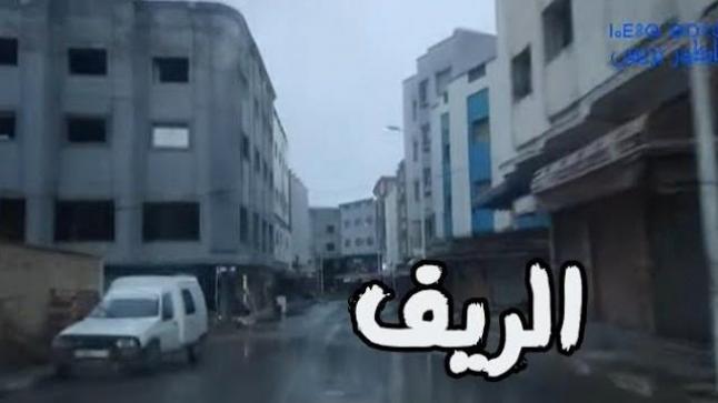 شاهدو.. جولة بشوارع بن الطيب.. أمطار غزيرة وشوارع خالية