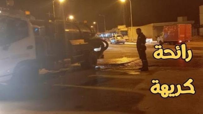 بعد معاناة مريرة للساكنة من تسرب مياه الصرف الصحي .. ممثلي ONEE يتدخلون لحفظ ماء الوجه