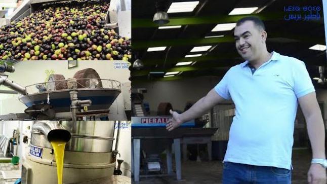 أجيو تشوفو مراحل عصر الزيتون واستخرات الزيت