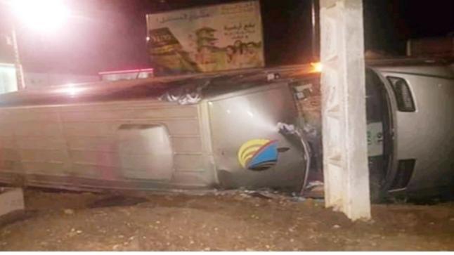 مصرع شابة ثلاثينية وإصابة أزيد من 20 أخرين في حادثة سير خطيرة