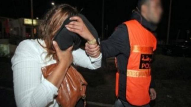 توقيف مغربية وابنتها القاصر بعد قتلهما لشاب وإضرام النار في جثته