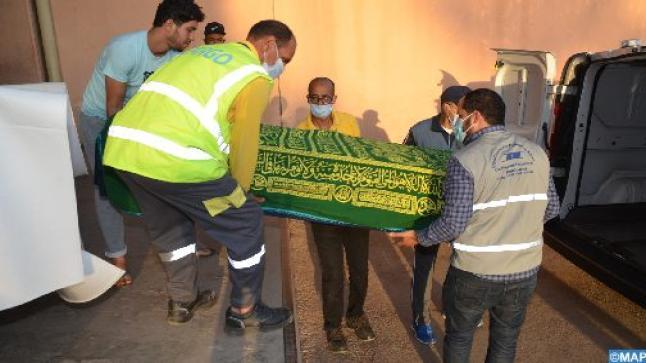 وصول جثماني السائقين المغربيين اللذين قتلا في مالي