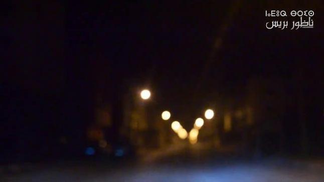 هكذا تبدو مدينة بن الطيب بعد حظر التجوال ليلا