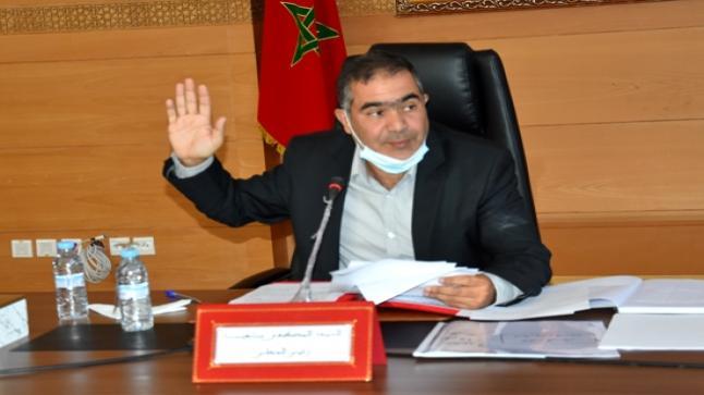 المجلس الإقليمي بالدريوش يعقد دورة استثنائية لانتخاب رؤساء اللجان الدائمة