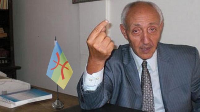 الموت يغيب القيادي الأمازيغي أحمد الدغرني بتزنيت