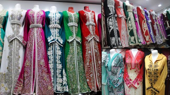 مديلات حديثة عند خياط نرجيس .. خياط جميع أنواع الملابس التقليدية