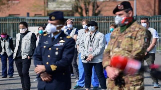 ارتفاع قياسي غير مسبوق .. 627 وفاة في يوم واحد بإيطاليا