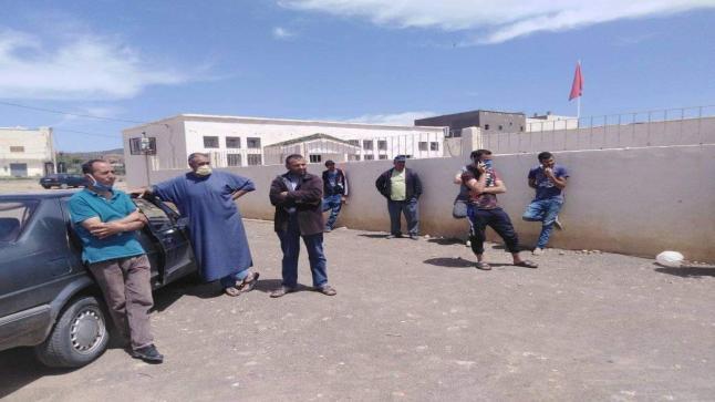"""احتجاجات في زمن """"كورونا"""".. سكان """" سيدي علي بورقبة """" يطالبون بالدعم المخصص لجائحة كورونا"""