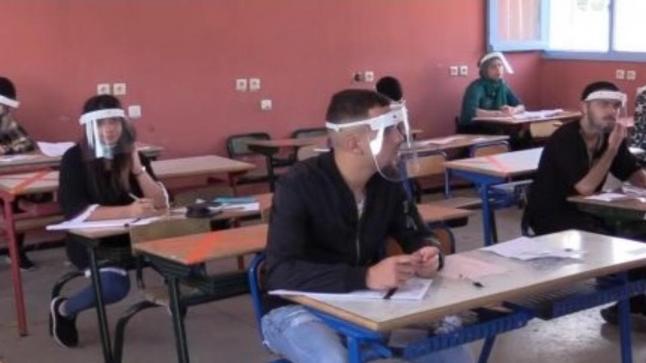 """تلميذ يصاب بـ""""كورونا"""" في مركز لامتحان الباكلوريا ومخالطوه يخضعون للتحاليل"""