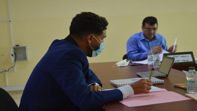 """كلية الناظور… الطالب الباحث""""منير ولقائد """"ينال دبلوم الماستر بالقانون العام"""