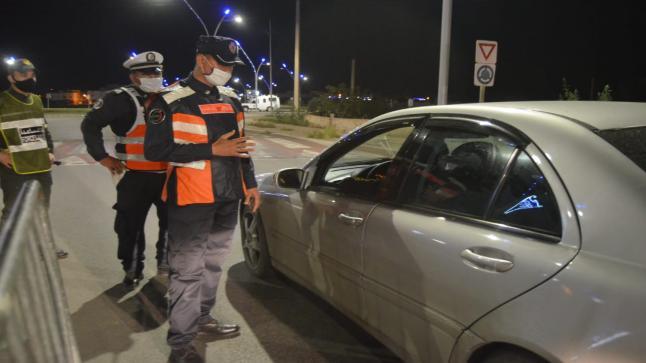 الناظور: بعد ارتفاع عدد الاصابات بكورونا.. السلطات تشدد المراقبة على الوافدين