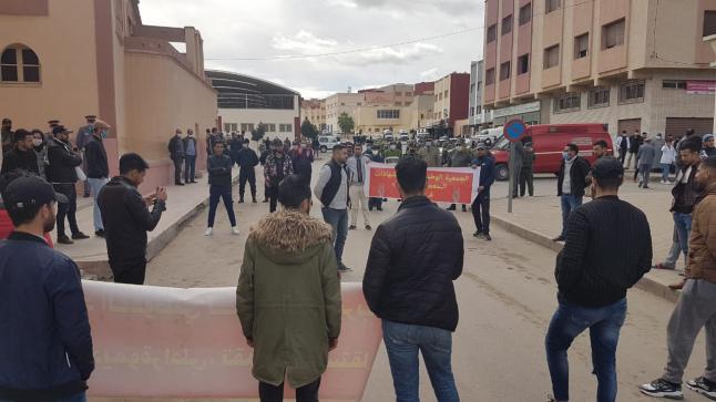 السلطات تطوق أحياء سلوان وتمنع وقفة احتجاجية تخليدا لذكرى حركة 20 فبراير
