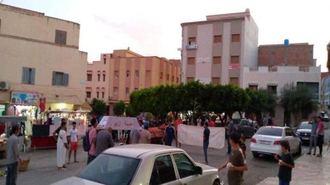 بعد اعتصام مطول.. معطلون ينظمون مسيرة بمختلف شوارع زايو