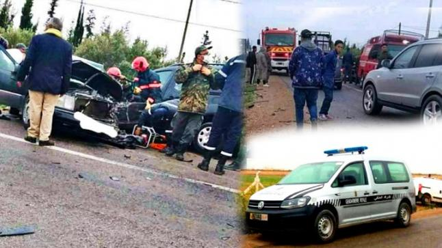 الطريق الرابطة بين بن الطيب و الدريوش تشهد حادثة سير خطيرة