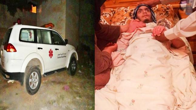 خطير جدا .. سيارة إسعاف ترفض نقل شاب في بن طيب للعلاج و هو في حالة جد حرجة
