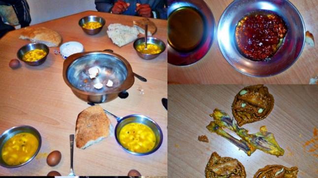 صور لوجبة فطور رمضاني لتلاميذ دار الطالبة بإعدادية الريف بسيدي علي بورقبة تفضح تدبير الإدارة