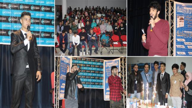 موقع ناظور بريس ينظم حفل فني بهيج خلال افتتاحه الرسمي ويكرم الاعلامي رمسيس بولعيون