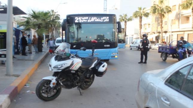 طالب يتعرض للضرب بعد احتجاجه على اكتظاظ داخل حافلة بالناظور