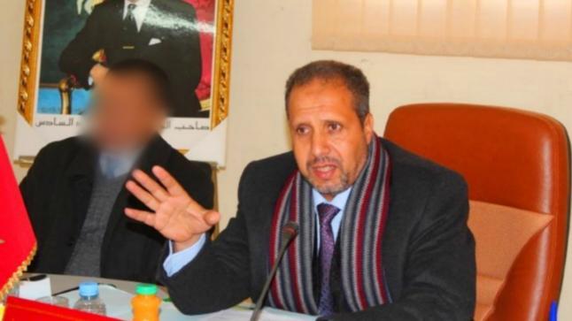 """التجمعي """"خالد بزعنين"""" على رأس مجلس جماعة ثلاثاء بوبكر للمرة الثانية"""