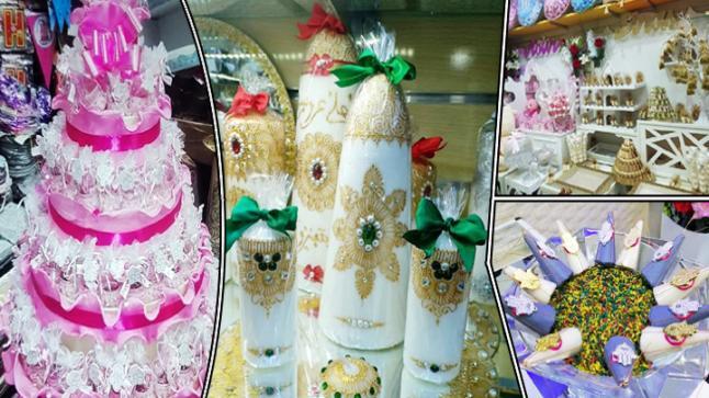 """إفتتاح أول محل خاص ببيع لوازم الأفراح والحلويات بمدينة بن الطيب """"عند رشيد"""""""