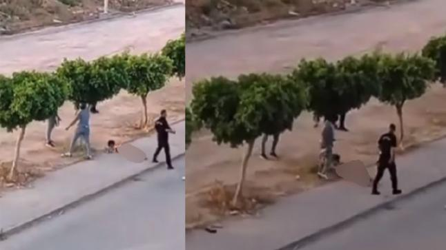 تونس: توقيف عناصر أمنية متورطة في تجريد طفل قاصر من ملابسه وسحله عاريا بالشارع