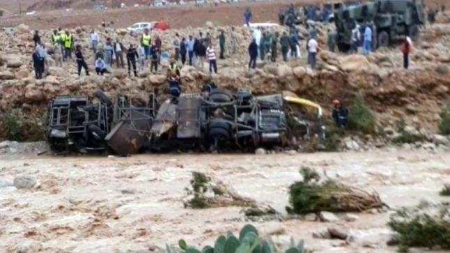 عاجل.. سائق الحافلة التي انقلبت أمس الأحد بإقليم الرشيدية يقدم نفسه صباح اليوم