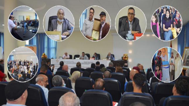 """شعبة الدراسات الأمازيغية بكلية الناظور تحتضن يوما دراسيا وتكرم الأستاذ """"بنعقية حسن"""""""