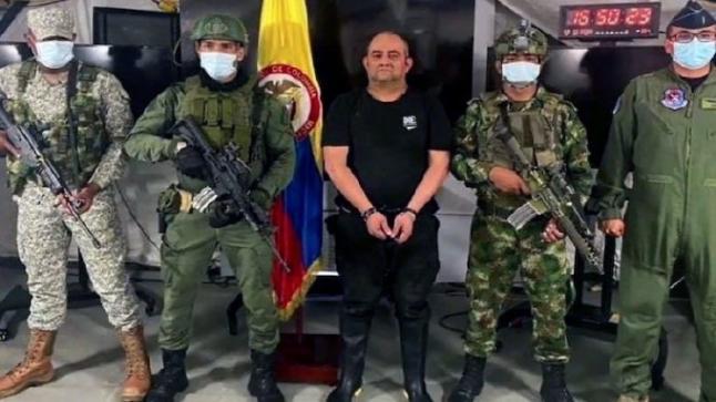 القبض على أكبر زعيم عصابة في كولومبيا