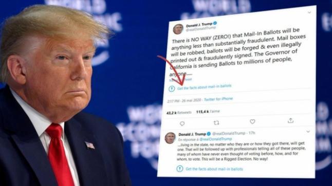 الرئيس الأمريكي دونالد ترامب يتجه إلى إغلاق الفايسبوك و تويتر