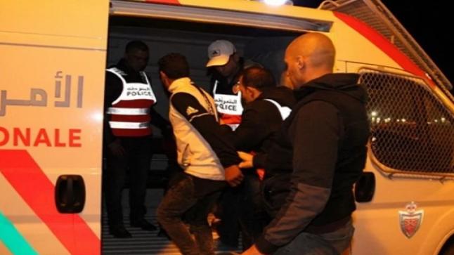 تبادل العنف يوقع 5 أشخاص في قبضة الشرطة