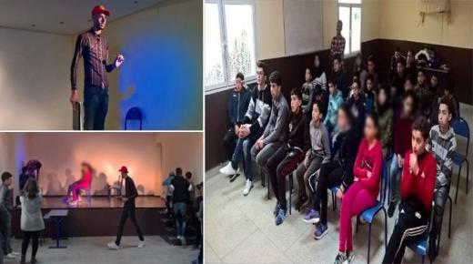 شعلة بن الطيب ،تسترسل برنامجها التكويني عبر تنظيم ورشة مسرحية بدار الشباب بن الطيب